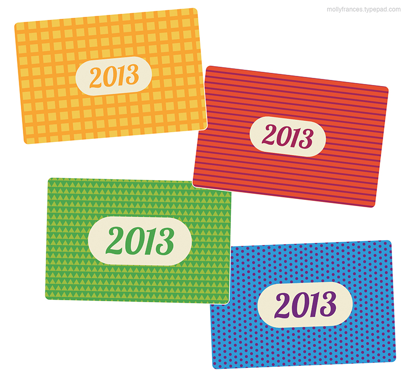 2013-ProjectLife-YearCards-4x6