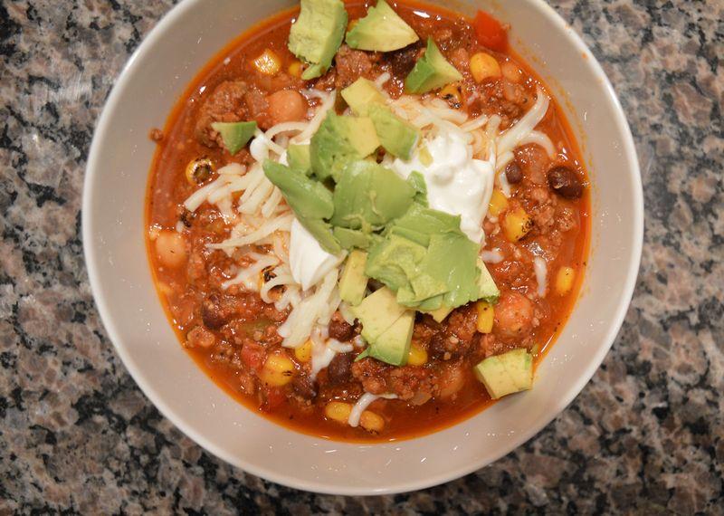 Chili-dinner