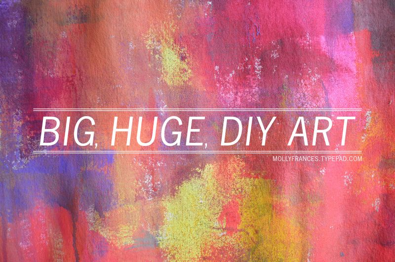 Diy Wall Art Big : Big wall art diy images