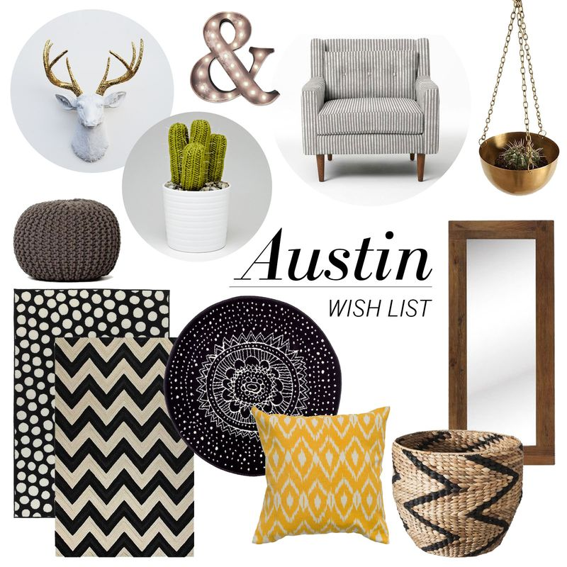 Austin-apartment-wish-list