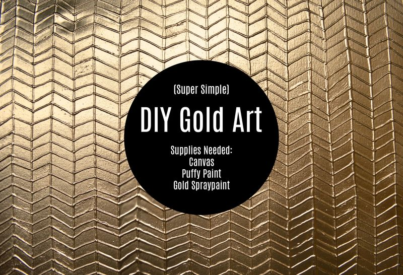 Molly-frances-simple-diy-gold-puffy-paint-art